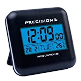 Brand New Precision radio Controlled Touch Sensitive Travel Alarm Clock