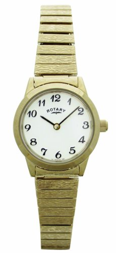 Rotary LB00762 Ladies Gold PVD Stainless Steel Bracelet Watch