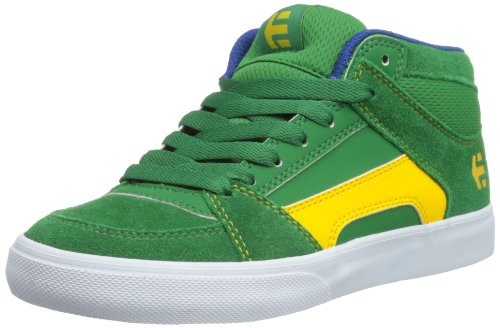 Etnies Unisex-Child K Rvm Vulc Trainers 4301000083 Green/White/Gum 1 UK, 34 EU, 2 US