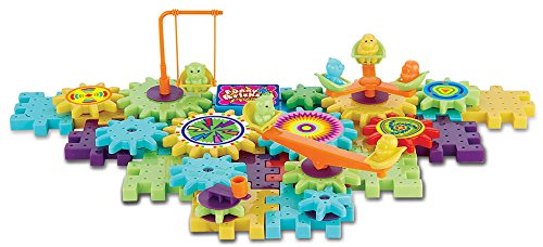Gear Building Toys For Boys : Interlocking building blocks and gears pcs construction