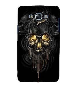 printtech Skull Design Back Case Cover for Samsung Galaxy A8::Samsung Galaxy A8 A800F