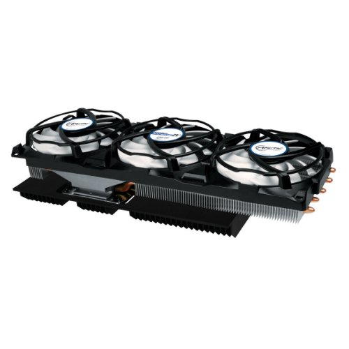 ARCTIC Accelero Xtreme IV High-End Graphics Card Cooler with Backside Cooler for Efficient RAM and VRM-Cooling DCACO-V800001-GBA01 (Gtx 970 Watercooling compare prices)