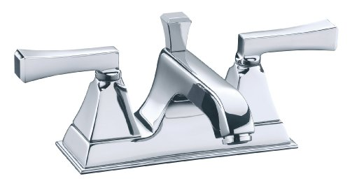 Best Offer KOHLER K-452-4V-CP Memoirs Centerset Lavatory Faucet with ...