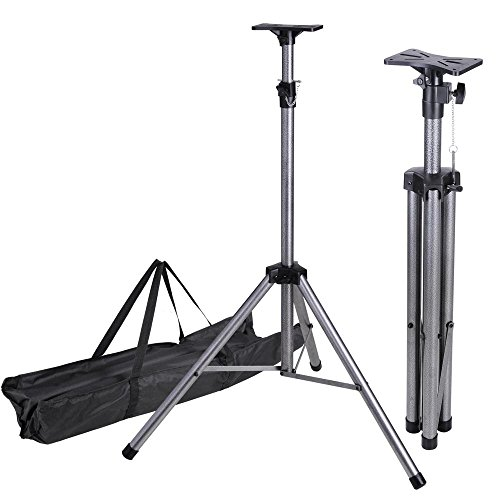 AW Pair of Universal DJ PA Speaker Lighting Tripod Support Stand Height Adjustable 39