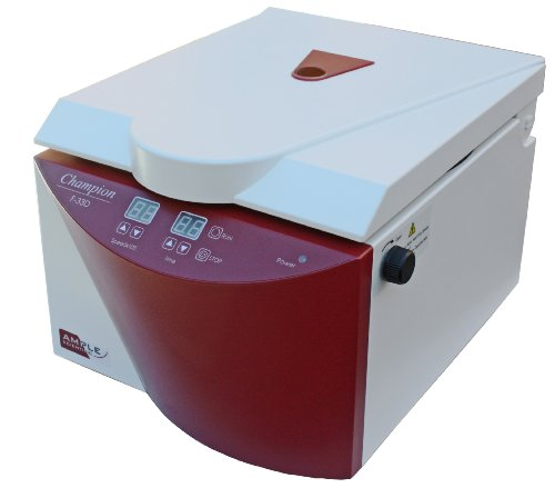 Ample Scientific Champion F-33D 8-Place Fixed Angle Digital Bench-Top Centrifuge, 15mL Capacity, 550-3300rpm Speed (Manual Centrifuge compare prices)