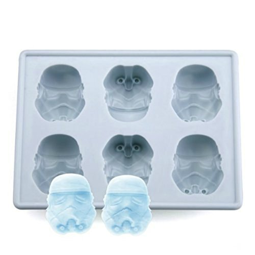Star Wars: Storm Trooper Silicone Ice Cube Mold / Tray - 1