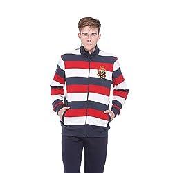 EX10SIVE Men's Striped Sweatshirt