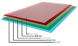 11x17 Presentation Cover - Transparent (Blue Tint)