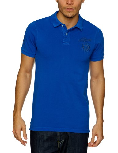 Tommy Hilfiger Pilot Polo G/D Shortsleeve 84 Polo Men's T-Shirt Surf The Web X-Large