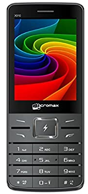 Micromax Flash X910 | Dual Sim | Battery 4000 mAh | Grey