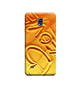 Kratos Glossy Finishing Back Cover For Samsung Galaxy Note 4 (Elite)