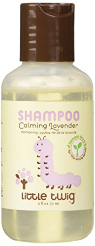 Little Twig All Natural, Hypoallergenic Baby Shampoo with a Blend of Lavender, Lemon, and Tea Tree Oils, Calming Lavender Scent, 2 Ounce Bottle - 1
