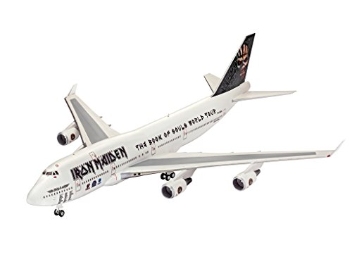 Revell-04950-Boeing-747-400-Iron-Maiden-im-Mastab-1144