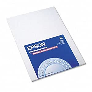 "Epson Premium Photo Paper Glossy 11.7"" x 16.5"" 20 sheets"