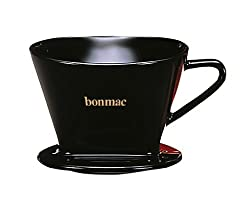 Bonmac Ceramic Cone 2 Cup Single Hole Coffee Dripper