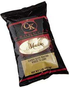 Ck Products Sugar Free Merckens Candy Coating 1 Pound Bag Dark Chocolate from CK Products