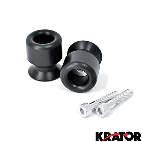 Krator HONDA CBR 600RR 1000RR 900RR 954RR 250R RR BLACK SWINGARM SPOOLS SLIDERS (Cbr 900rr Tire compare prices)