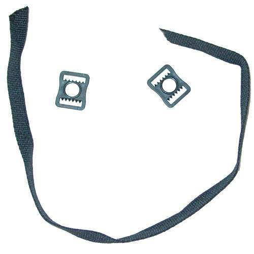 A&R Sports Chin Strap (1-Piece), Black