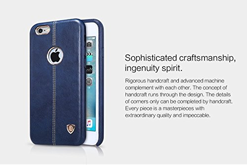 separation shoes fc06a 57fd4 iPhone 6S Case,NILLKIN Englon Series Inner Soft Lining Leather Back Cover  for Apple iPhone 6 (iPhone 6S) -Blue , Leather cover iphone,Leather Back ...
