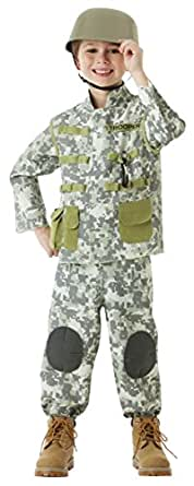 Children's Combat Solider Costume