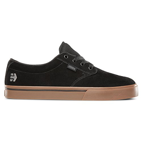 Etnies Men's Jameson 2 Eco Lace Up Shoe, Black/Black/Gum, 8.5 D US