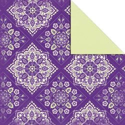 Kaisercraft Garden Arabesque Double-Sided 12-Inch by 12-Inch Floral Paper, 10 Sheets