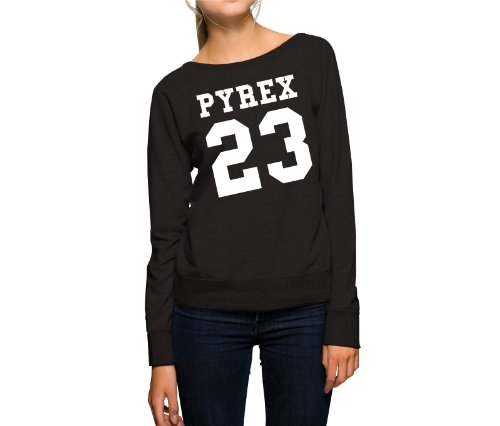 pyrex-23-felpa-girls-nero-m