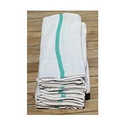 Brown Eyed Girl Textiles DishTowels12pk Economy Dish Towel, Cotton Herringbone, 15\