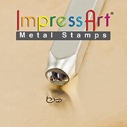 ImpressArt- 3mm, Flourish I Design Stamp