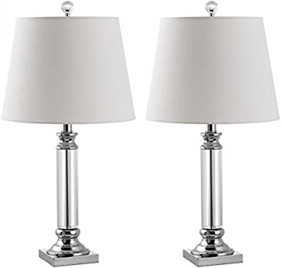 Safavieh Lighting Collection Zara Crystal 23.5-inch Table Lamp (Set of 2)