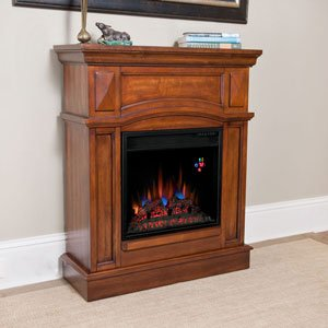 ChimneyFree Keller Electric Fireplace Mantel Package in Vintage Cherry - 18WM2510-C242 image B00GHNO3DE.jpg