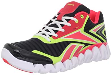 Reebok Men's Zigactivate Running Shoe,Black/Yellow/Cherry/White,9 M US