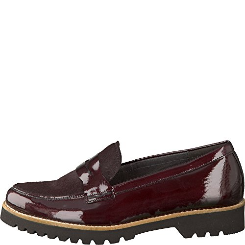 gabor shoes damen slipper rot merlot s s c 88. Black Bedroom Furniture Sets. Home Design Ideas