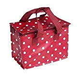 Spotty Red Insulated Lunch Bagby Rex