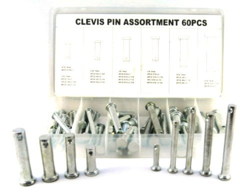 Images for Heavy-Duty Clevis Pin Assortment - 60 Quality Pins