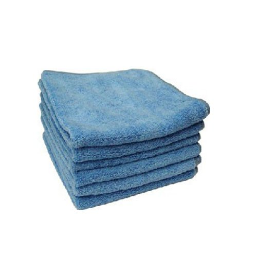 "Chemical Guys Mic_301_06 - Chubby Supra Microfiber Towel, Blue 16.5"" X 16.5"" (Pack Of 6) front-568345"