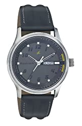 Fastrack Urban Kitsch Analog Grey Dial Mens Watch - NE3001SL02