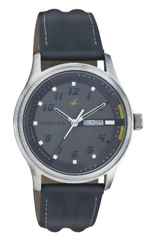 Fastrack-Urban-Kitsch-Analog-Grey-Dial-Mens-Watch-NE3001SL02