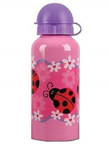 Stephen Joseph Stainless Steel Water Bottle, Ladybug front-1019030
