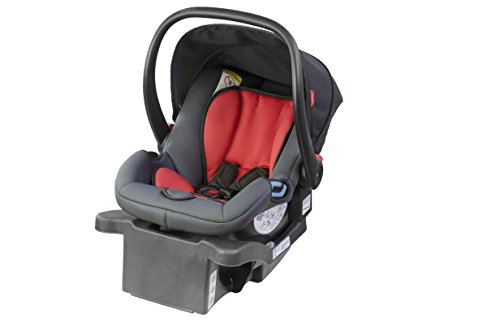 phil&teds Alpha Infant Car Seat, Flint/Red