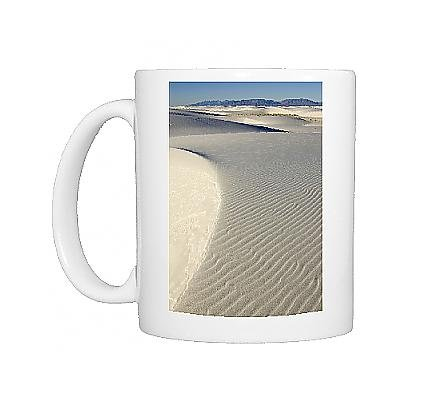 Photo Mug Of White Sands In The Tularosa Basin From Ardea Wildlife Pets