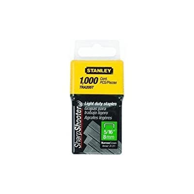 2 X Stanley TRA205T 1,000 Units 5/16-Inch Light Duty Staples