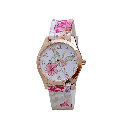 familizo-women-girl-silicone-printed-flower-causal-quartz-wristwatches-pink