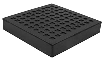 "Mason BBNR6X6 Natural Rubber Bridge Bearing Vibration Isolation Pad, 6"" Length x 6"" Width x 1"" Thick"