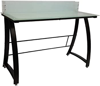 Buddy Products Computer Workstation w/Glass Top