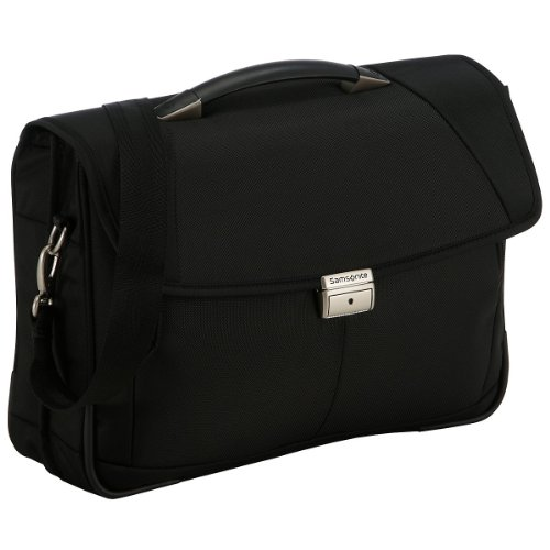 "Samsonite Cartella Intellio Briefcases Briefcase 2 Gussets 16"" 15.5 liters Nero (Black) 56332-1041"