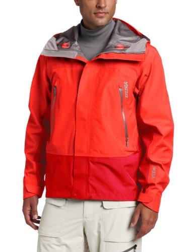 Marmot Spire Men's Waterproof Jacket - Rocket Red/Team Red, X-Large