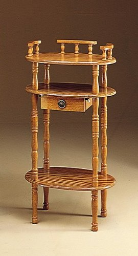 Night Stand Oak front-1066069