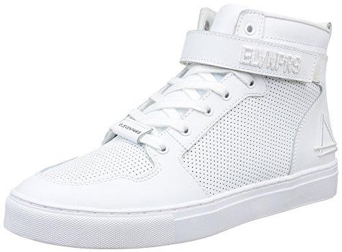 Eleven ParisTotal - Sneaker Uomo , Bianco (Bianco (White)), 42