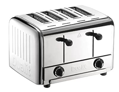 Dualit 49900 Catering 4-Slot Pop Up Toaster by Dualit